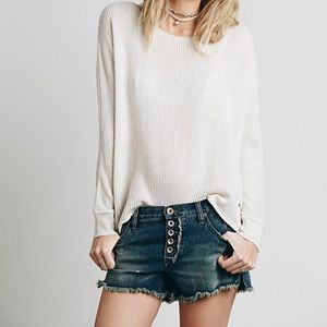 Free People / Runaway Slouch Cutoffs